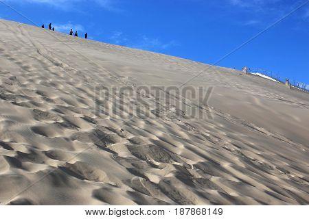Sand Dunes of the Dune du Pilat in France