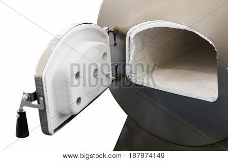 Oven autoclave isolated on white background electrical