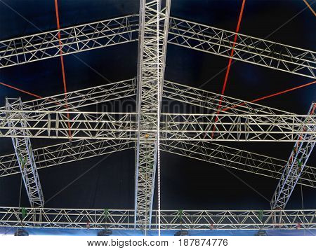 Structures For Stage Illumination Lights Equipment And Projectors