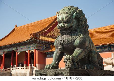 Chinese Guardian Lion