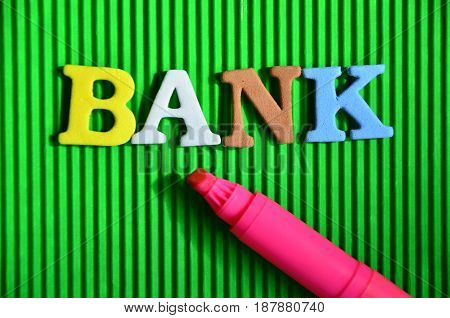 WORD BANK ON A  ABSTRACT B COLORFUL  BACKGROUND