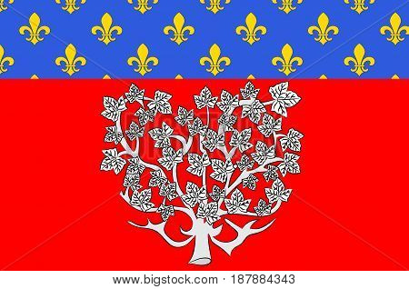 Flag of Amiens it is the capital of the Somme department in Hauts-de-France and commune in northern France