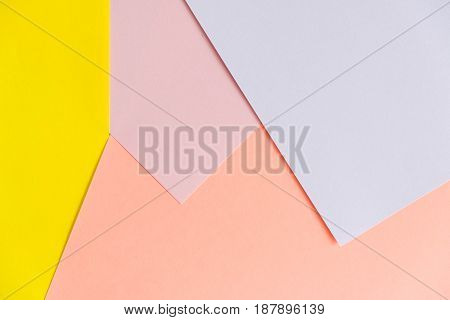 pastel color paper texture background. Abstract geometric paper background. trend colors. Colorful of soft paper background. abstract glamour design.