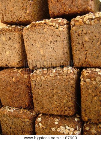 Wholemeal Bread With Nuts.