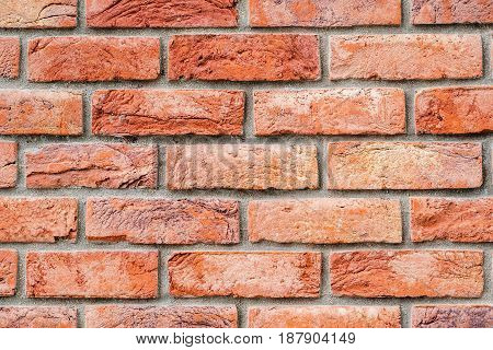 Modern Red Brick Facade