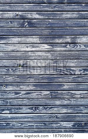 Old Black Wooden Textured Wall Background, Vertical Version