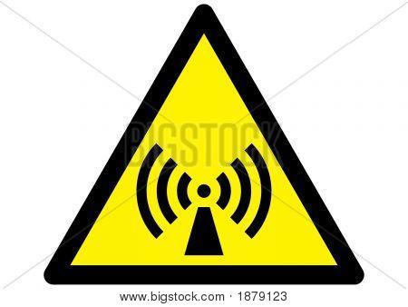 Non Ionizing Radiation Hazard Symbol
