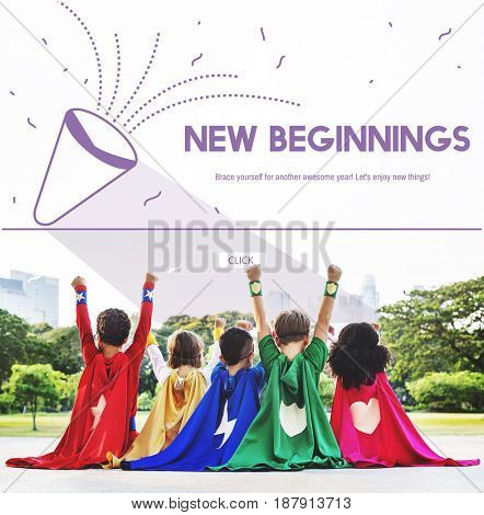 Holiday New Beginnings Celebration Start Up