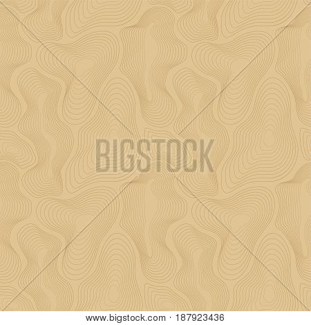 Vector seamless pattern. Abstract dynamic rippled surface, illusion of movement, curvature. Repeat design for tileable print