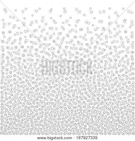 Abstract Bubbles Heap Pattern geometric vector Background