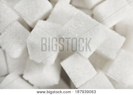 Sugar cubes as background
