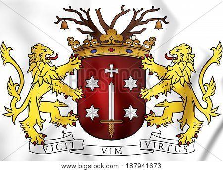 Haarlem Coat Of Arms, Netherlands.