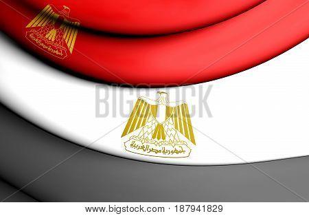 Standard Of The President Of Egypt.