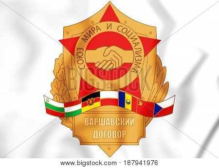 Emblem Of The Warsaw Pact.