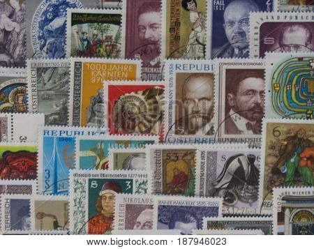 Stamps Of Austria