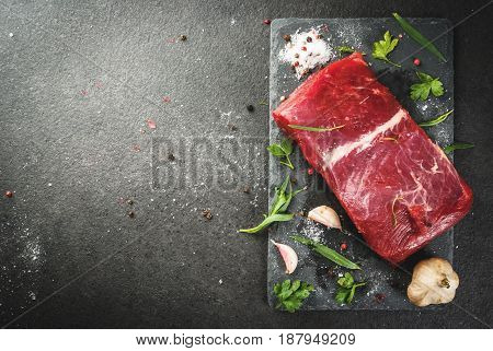Raw Beef Meat Tenderloin