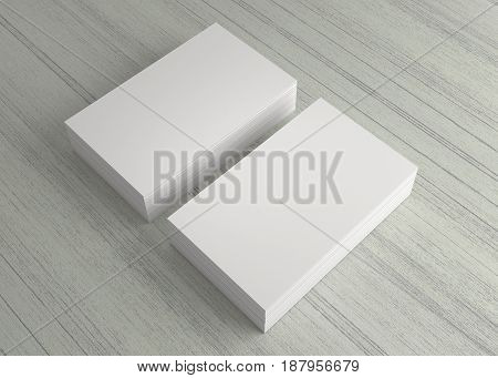 White Business Name Card On The Table