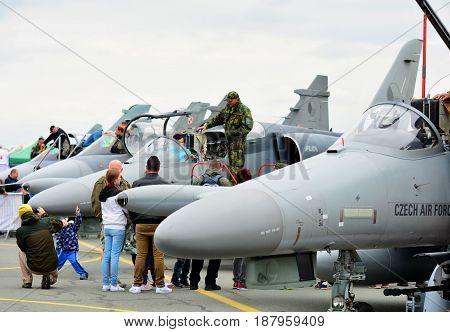 Aero L-159 Alca Planes Exhibition