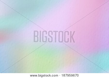 Abstract background on watercolor paper, elegant Tender tones. For modern backdrop, wallpaper or banner design, place for your text