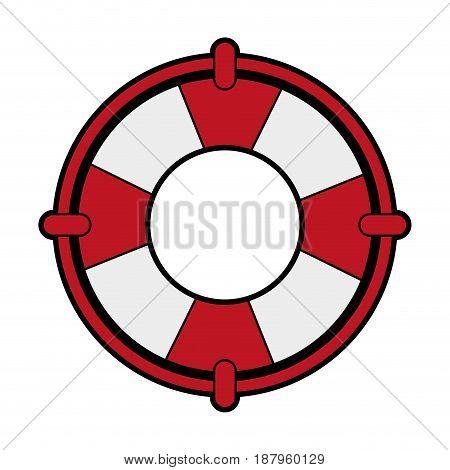 life preserver icon image vector illustration design