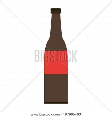 tall bottle icon image vector illustration design