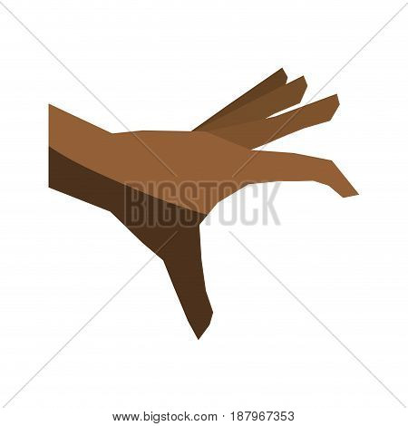 hand picking or grabbing icon image vector illustration design