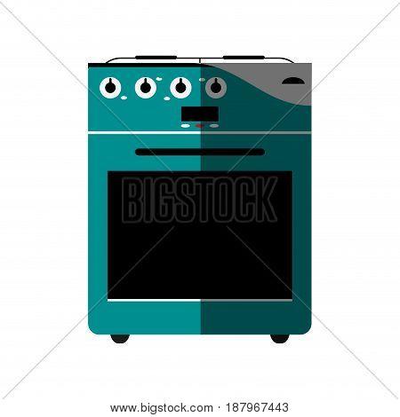oven stove icon image vector illustration design