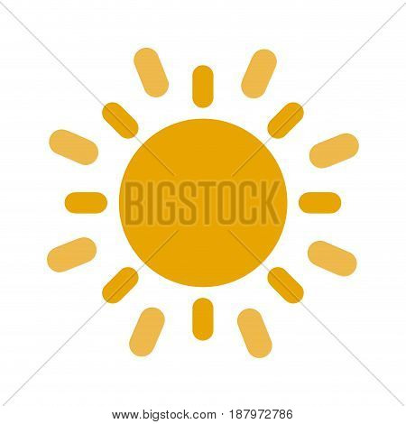 sun cartoon icon image vector illustration design
