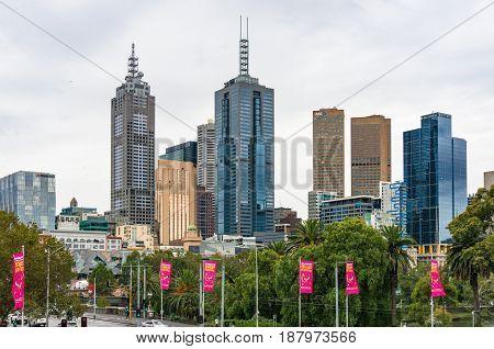Melbourne Centre Cityscape