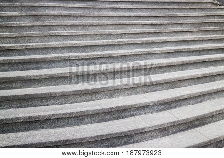 Old Black Stone Outdoors Steps stock photo