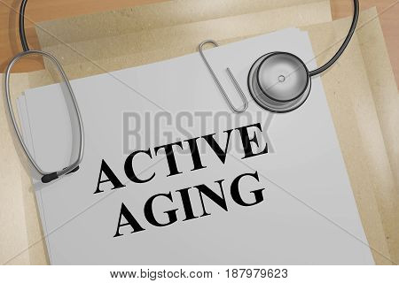 Active Ageing - Medical Concept