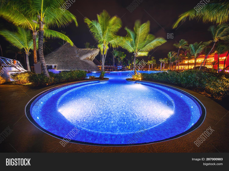 Tropical Swimming Pool Image & Photo (Free Trial) | Bigstock