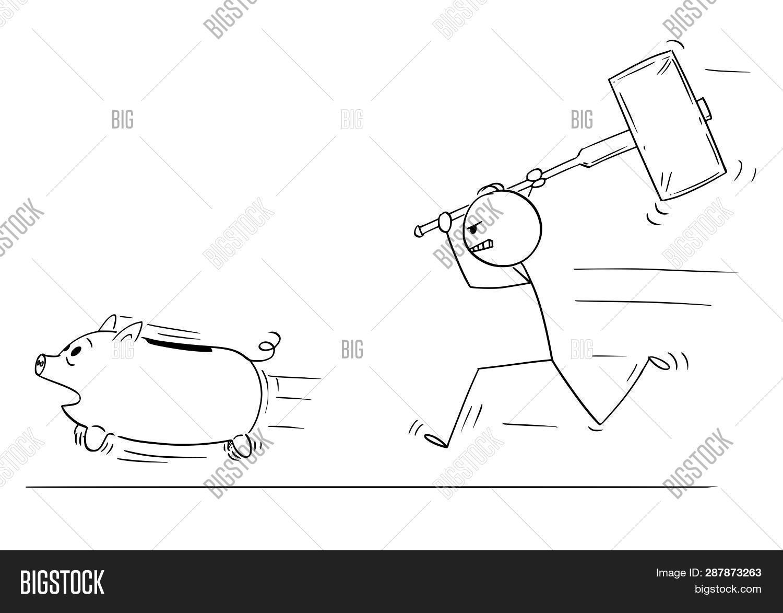 Cartoon Stick Figure Image & Photo (Free Trial)   Bigstock