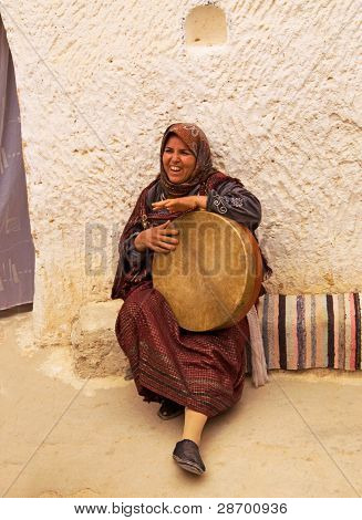 Representative of of Tunisia's ancient Berber Numid civilization