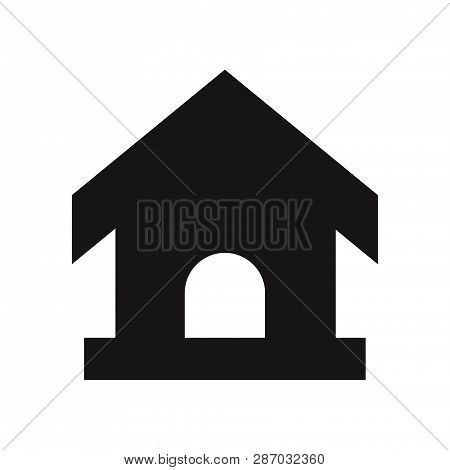 Pet House Icon Isolated On White Background. Pet House Icon In Trendy Design Style. Pet House Vector
