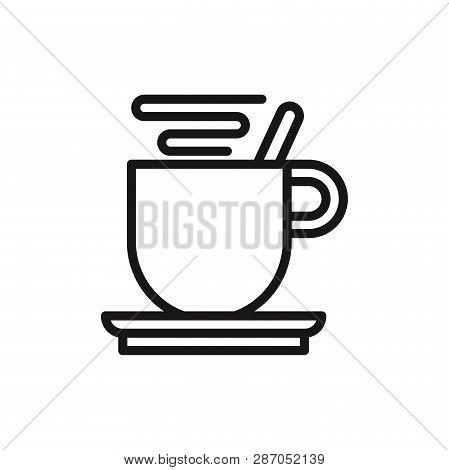 Coffee Break Icon Isolated On White Background. Coffee Break Icon In Trendy Design Style. Coffee Bre