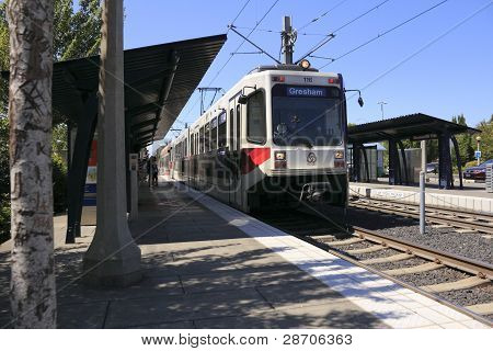 Train Station Track People