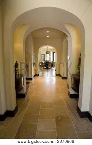 Luxury Home Hallway