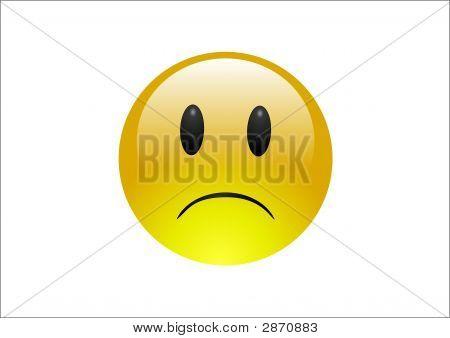 Aqua Emoticons Sadness