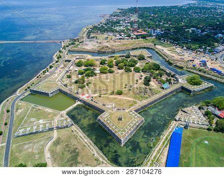 Jaffna Fort, Built By The Portuguese Near Karaiyur At Jaffna, Sri Lanka In 1618 Under Phillippe De O