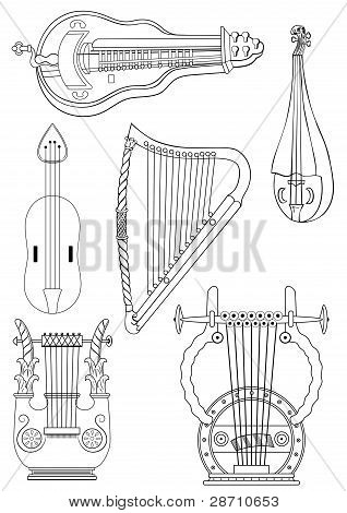 Antique Strings Instruments