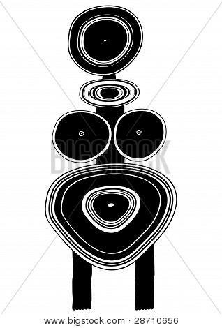 Figure - Primitive Art