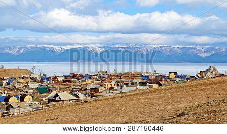 Panorama View Of Baikal Lake And The City