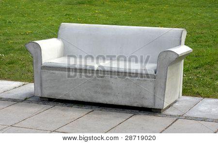Konkreta soffa
