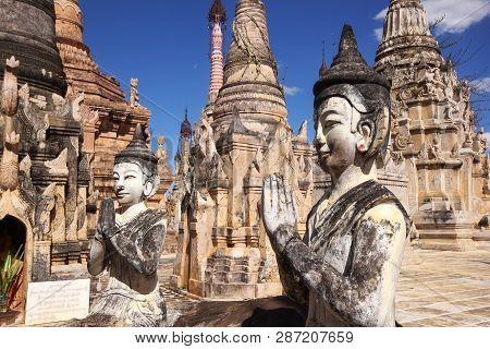 Kakku Tempel Stupa - Shan-staat - Myanmar