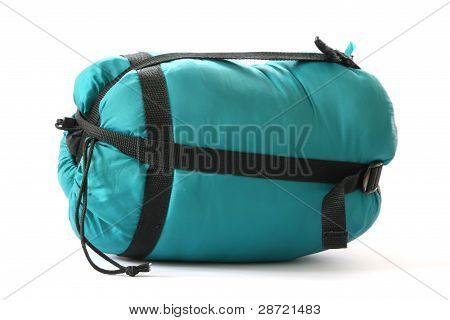 Packed sleeping bag
