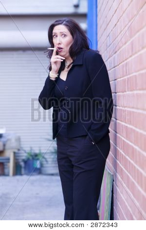 Caught Smoking
