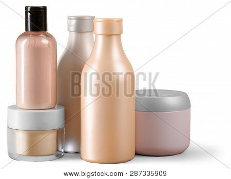 Personal hygiene products. close up. macro photography. object poster