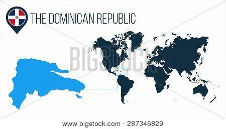 Dominican Republic Vector & Photo (Free Trial)   Bigstock