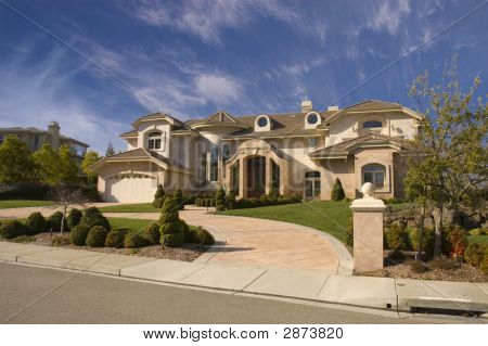 Very Fancy Home On A Hill